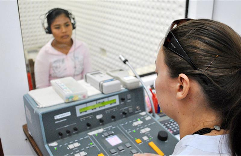 Audiometry checkup